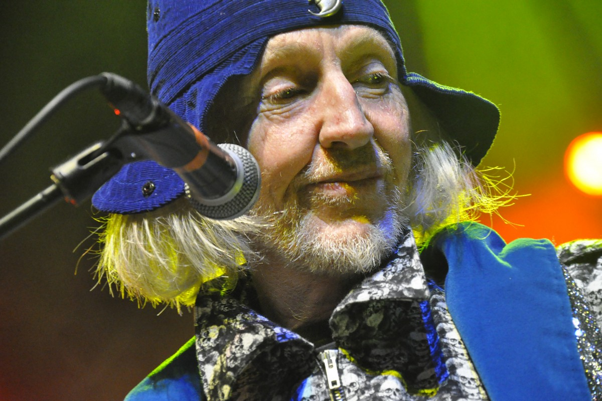 Daevid Allen by Clive Williamson
